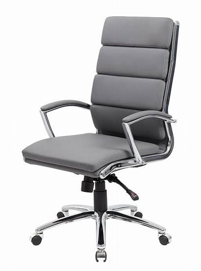 Chair Boss Executive Caressoftplus Gy Grey Bosschair
