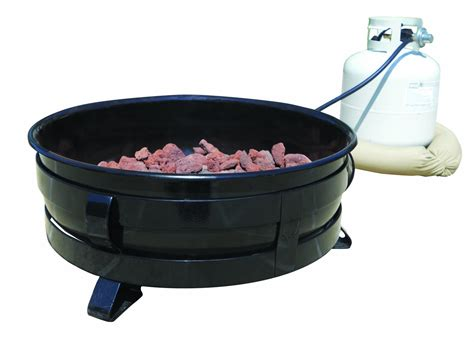 portable propane pit king kooker 174 24 quot portable propane pit with porcelain