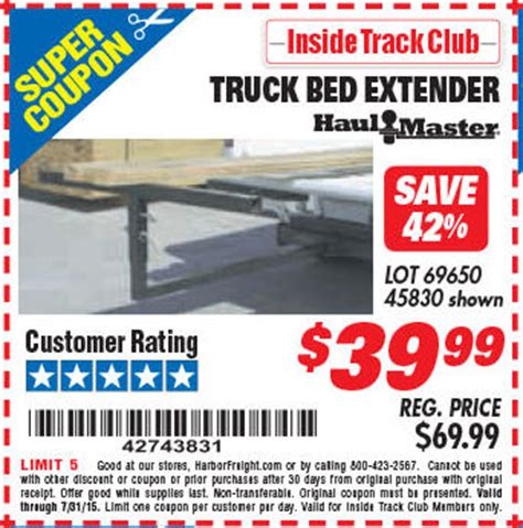 Harbor Freight Floor Extender by Harbor Freight Tools Coupon Database Free Coupons 25