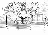 Coloring Cash Museum Tears Needle Hole Library Clipart Clip sketch template