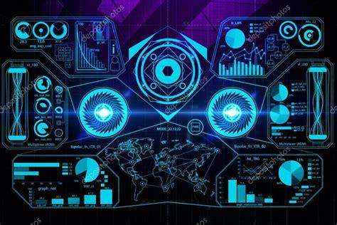 Digital Screen Wallpaper fondos de pantalla de negocios digitales fotos de stock