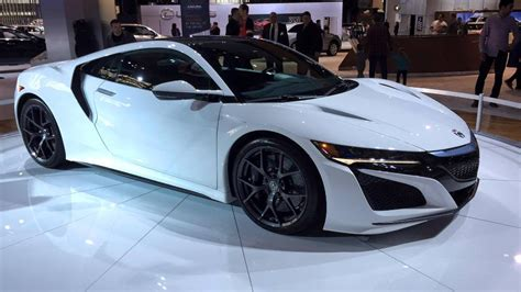 acura brings white nsx  cold chicago