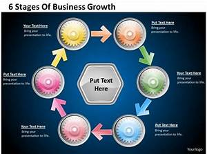 1013 Business Ppt Diagram 6 Stages Of Business Growth