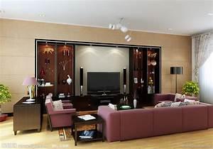 现代客厅效果图设计图__室内设计_环境设计_设计图库_昵图网nipic.com