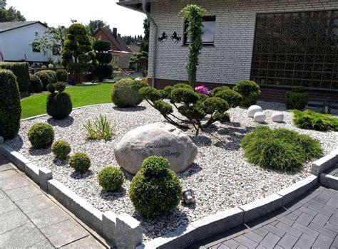 Moderne Vorgärten Mit Kies by Moderner Vorgarten Mit Kies Varsoviaco Anlegen