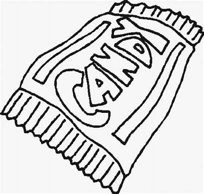 Coloring Pages Candybar