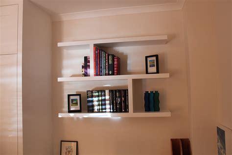 Floating Shelves Bookcase by Wardrobe Company Floating Shelves Boockcase Cupboards