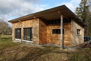 Maison Ecologique Bois Maison Parallele