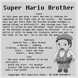 Video Game Rental Instructions