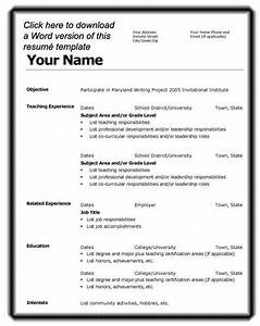 job resume format download microsoft word http www With how to make a cv template on microsoft word