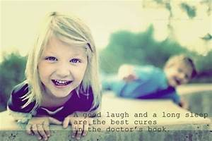 children, cure, doctor, laugh, quote, saying - image ...