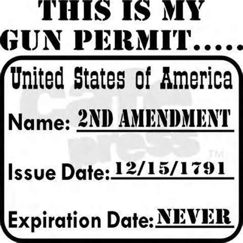 just try to take my guns gun expiration date stay true and army navy