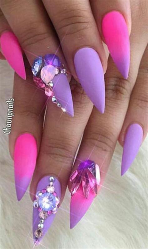 Design Purple And Pink by 10 Of The Best Nails Instagrammers Nail Nails