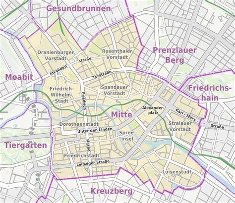 liste der strassen und plaetze  berlin mitte wikiwand