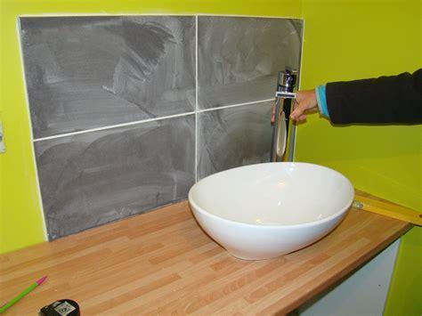 montage vasque salle de bain carrelage salle de bain