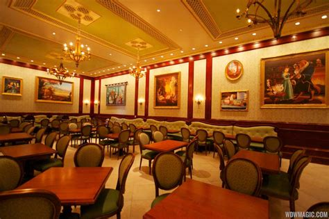 Inside Be Our Guest Restaurant Dining Rooms  Photo 11 Of 19