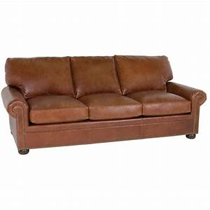 Brown leather couch best s3net sectional sofas sale for Tan leather sofa bed