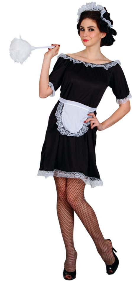 Ladies Classic French Maid Budget Xs Teen Size Fancy