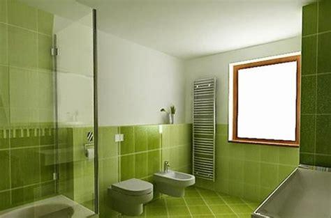 decoracion de banos color verde