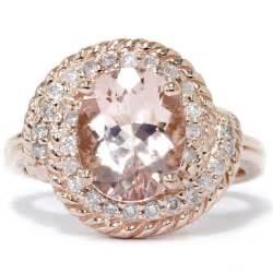 gold morganite engagement rings gold rings gold rings with morganite