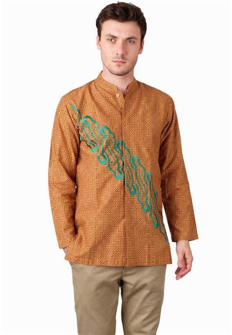 model kemeja batik pria  kekinian banget modelbusana