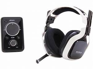 Astro A40 With Mixamp Pro White PC PS4 Xbox One With Mic