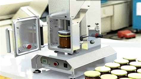 twist  vacuum capping machine semi automatic desktop vacuum capper equipment jar sealer