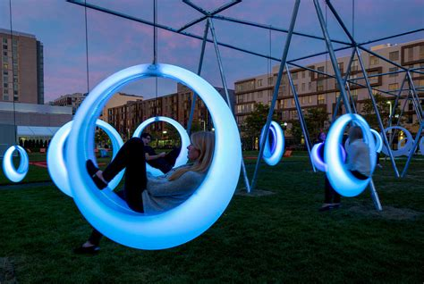 swing time installation  hweler yoon architecture