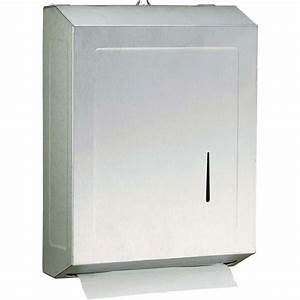 shop psisc satin c fold pull paper towel dispenser at With commercial bathroom paper towel dispenser