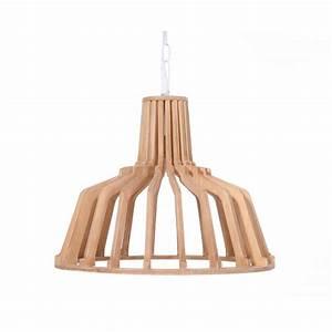Suspension Bois Scandinave : lampe suspension scandinave en bois h 39 cm 41 cm tiya naturel ~ Melissatoandfro.com Idées de Décoration