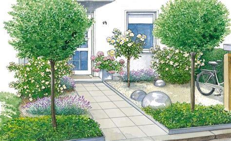 Vorgarten Baum Immergrün by Vorgartengestaltung 40 Ideen Zum Nachmachen Garten