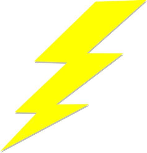lightning bolt clip art  clkercom vector clip art