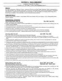 Sle Resume Template Investment Banking Resume For Freshers Sales Banking Lewesmr