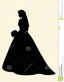 Beautiful Bride Silhouette