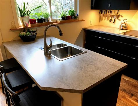Laminate Countertops by Diy Laminate Countertops 8 Steps With Pictures