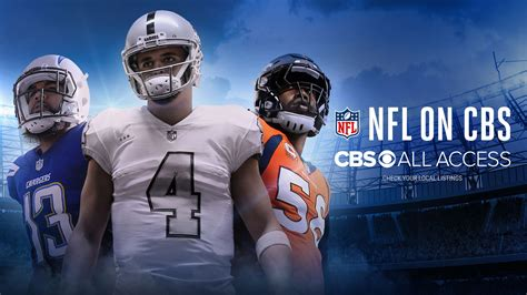How To Watch Live NFL Games With CBS All Access
