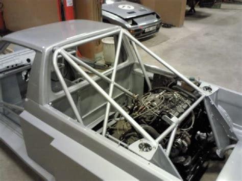 vw caddy   mid engine volvo turbo inline
