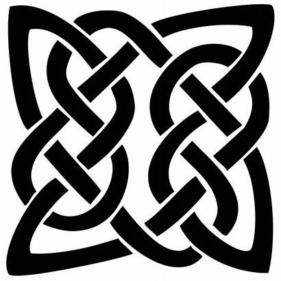 Celtic Knot Tattoo Svg Shape Silhouette Pattern