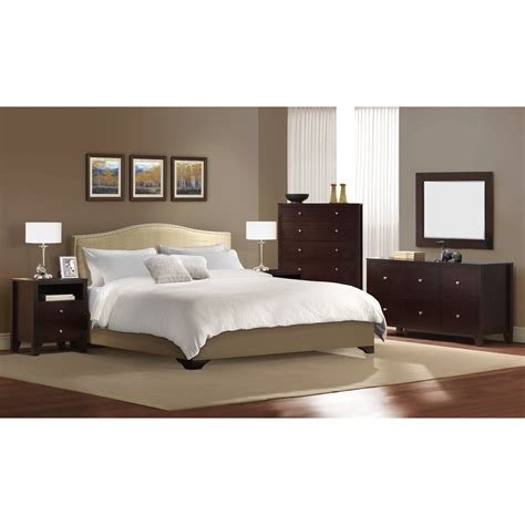 lifestyle solutions magnolia platform  piece bedroom set