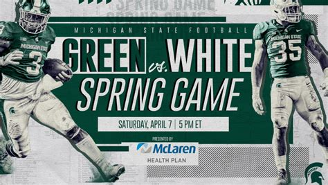 Spring Game Presented By Mclaren Health Plan Set For April