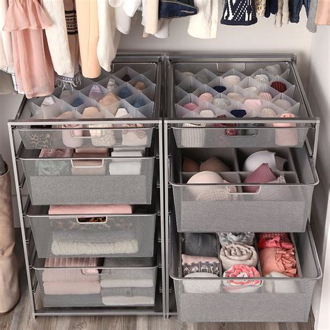 Closet Storage by 32 Compartment Drawer Organizer The Container Store