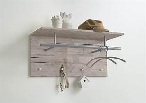 Kleider Aufhängen Stange : spot wandgarderobe mit kleider stange und 4 haken sandeiche nb by ebay ~ Michelbontemps.com Haus und Dekorationen