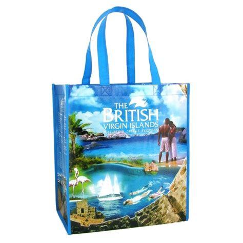 custom  laminated polypro tote bag promo tote bags