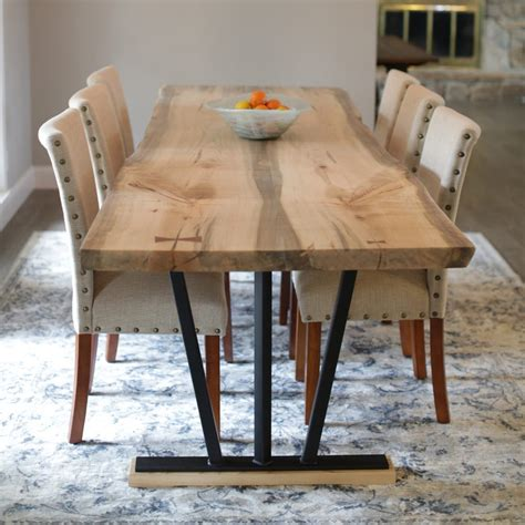 what is a live edge table horizon westide collection spalted ambrosia maple live