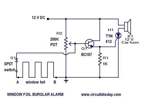 Home Security Alarm System Circuit Diagram Gallery