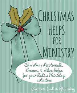 Christmas Ideas for Church La s Groups and Womens
