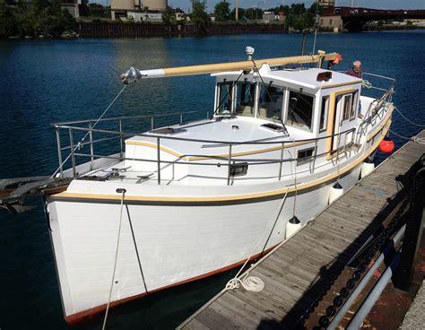 diesel duck  cruiser  sale yachtworld