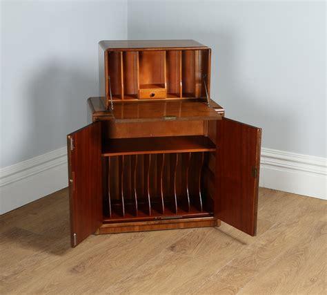deco bureau antique deco figured walnut office writing bureau