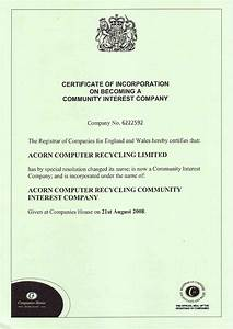 Sample certificate incorporation image collections for Certificate of organization template