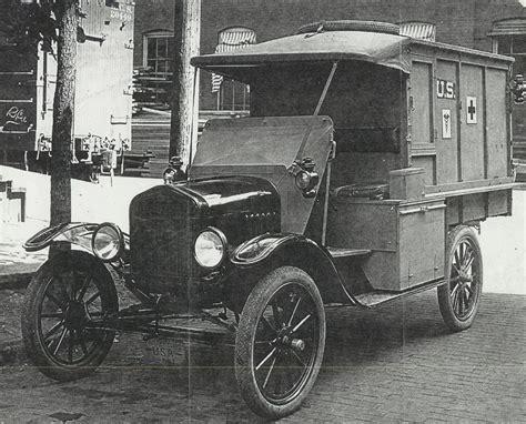 Model T Ambulance by Wwi Ford Model T Ambulances Pre Ww2 Vehicles Hmvf